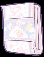 ABUniverse BunnyHopps Night Diaper