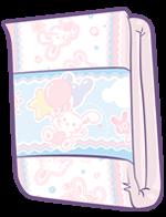 ABUniverse BunnyHopps Day Diaper