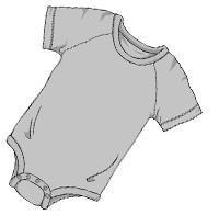 ABUniverse Active DiaperSuit Grey